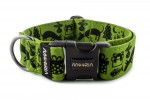 Halsband dogXmas - Farbe Lime Green