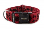 Halsband dogXmas - Farbe Royal Red