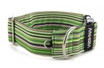 Halsband Casual Green - Detail des Halbrings