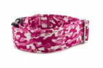 Halsband Camouflage Pink - Detail des Musters