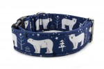 Halsband Polar Bear - Detail des Musters