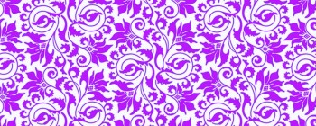 Abstract Flower Violet