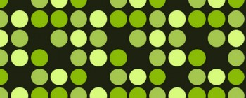 Bright Green Dots