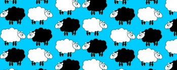 Sheep Dream Blue