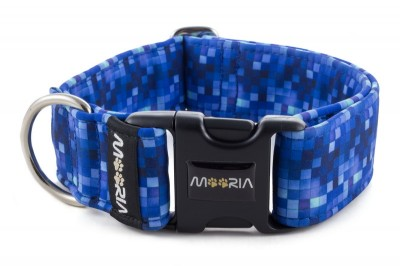 Halsband Digital Blue