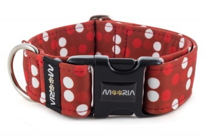Halsband Red Dots